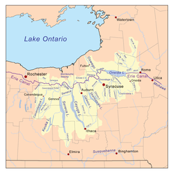 Eastern Great Lakes And Hudson Lowlands Ecoregion Wikipedia - Great lakes in usa map