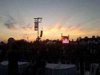Ottawa Bluesfest - A beautiful view of the closing night of Ottawa's RBC Bluesfest 2018, as taken by a Bluesfest volunteer.