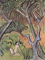Otto Mueller - Waldlandschaft mit Akt - 1924.jpeg