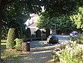 Overath Heiligenhaus - Brunnen vor der Sank Rochus Kirche - geo.hlipp.de - 38762.jpg