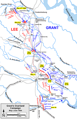 Grant's Overland Campaign, 150 Years Ago