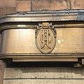 Oxford Circus tube station J Leon & co emblem.jpg