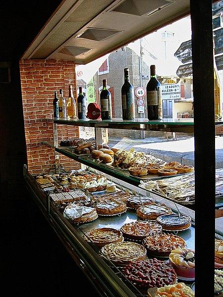 Pâtisserie à Barousse