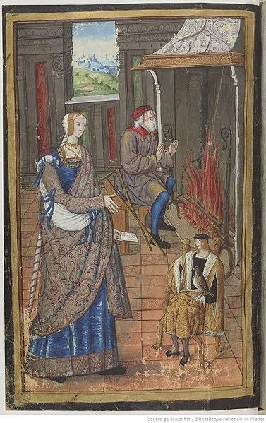 File:Pénélope, Laërte et Télémaque BnF Français 874 fol. 3v.JPEG