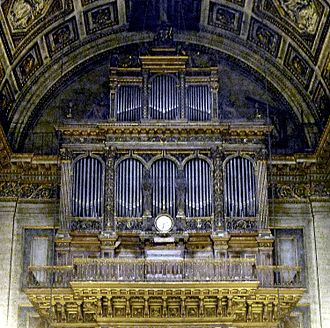 Requiem (Fauré) - The organ by Aristide Cavaillé-Coll in La Madeleine, Paris, where the first version of the Requiem was first performed