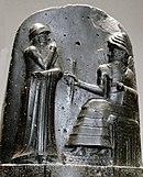 P1050771 Louvre code Hammurabi bas relief rwk.JPG