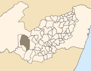 Buíque - Buíque is located in the Pernambucan Agreste Mesoregion.