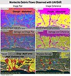 PIA22243 – Effects of Deadly California Debris Flows Seen in Before-After Images from NASA's UAVSAR.jpg