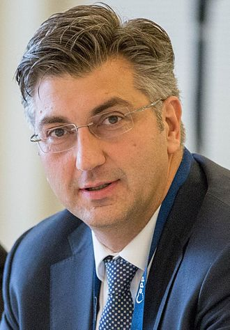 Next Croatian parliamentary election - Image: PM Andrej Plenković (cropped)