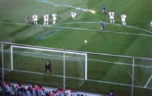 a384b4748 Ronaldo scoring the winning penalty for Barcelona in the 1997 UEFA Cup  Winners  Cup Final against Paris Saint-Germain