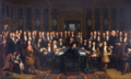 Painting Henri Gascard Signing of the peace treaty between France and Spain 1635-1701.png