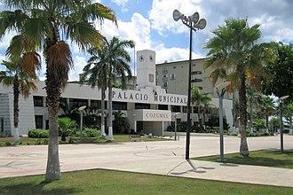San Miguel de Cozumel - Image: Palacio Municipal, Cozumel 20140724 (2)