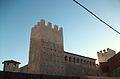 Palau-castell de Llutxent per darrere.JPG