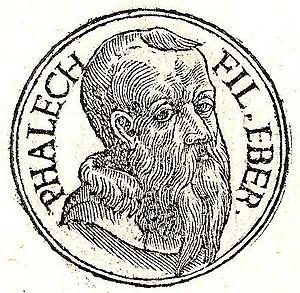 Peleg - Peleg, son of Eber (as envisioned in AD 1553)