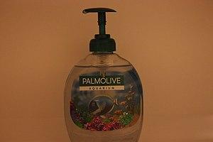 Liquid soap Palmolive