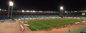 Estadio de los Juegos Mediterráneos - Image: Panorámica del Estadio de los juegos mediterráneos