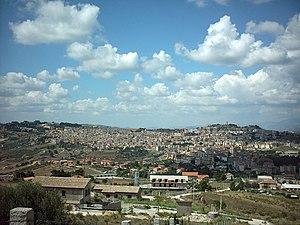 San Cataldo, Sicily - Image: Panorama San Cataldo(CL)