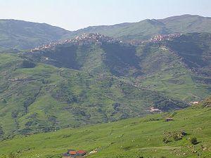 Capizzi - Image: Panorama di Capizzi