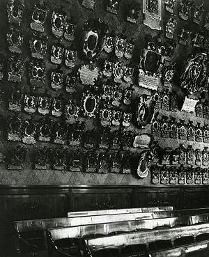 Bo Palace - Aula Magna. Photo by Paolo Monti, 1966