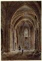 Paris (75), église Saint-Pierre de Montmartre, dessin anonyme, XIXe s. coll. Hippolyte Destailleur, BNF rés. FOL-VE-53.png