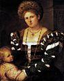 Paris Bordone - Ritratto di dama con figlio - Hermitage, San Pietroburgo.jpg
