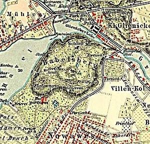 Babelsberg Park - Babelsberg Park around 1900
