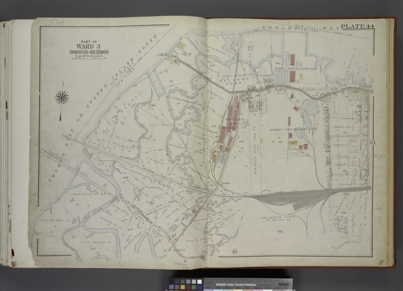 File:Part of Ward 3. (Map bound by State Line, Richmond Terrace (Shore RD), Arlington Ave, Baltimore and Ohio Railroad, Western Ave, Washington Ave, Old Place Creek) NYPL1646264.tiff