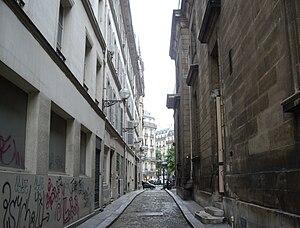 Saint-Philippe du Roule (Paris Métro) - Image: Passage Saint Philippe du Roule, Paris 8