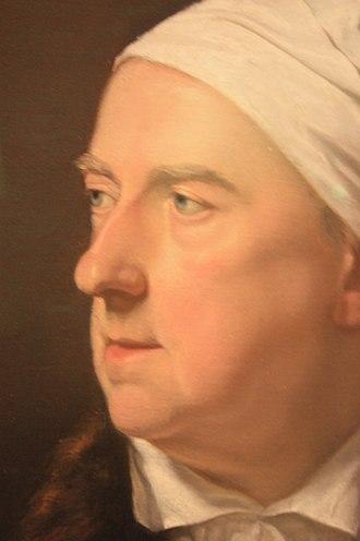 Gavin Hamilton (artist) - Pastel portrait of Gavin Hamilton (detail) by Archibald Skirving, 1788