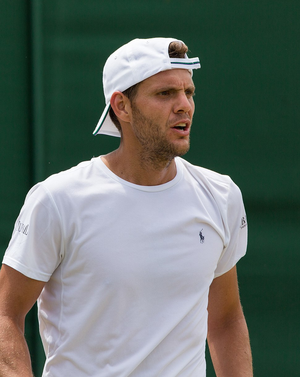 Paul-Henri Mathieu 3, 2015 Wimbledon Qualifying - Diliff