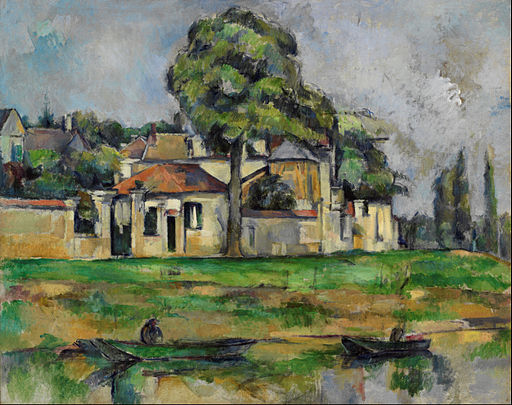 Paul Cézanne - Banks of the Marne - Google Art Project