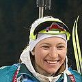 Paulina Fialková (SLO) Darya Domracheva (BLR) Anaïs Chevalier (FRA) (42396068540) (cropped2).jpg