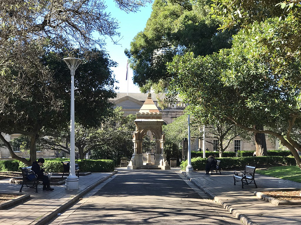 Pavilion in the Hyde Park, Sydney