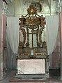 Pecetto (TO), chiesa dei Batu', altare settecentesco (Fab18 set2006).jpg