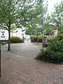 Pedestrianised area just south of Bemisters Lane - geograph.org.uk - 1383503.jpg