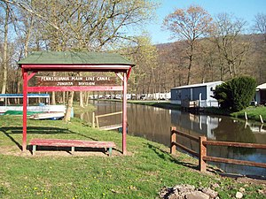 Granville Township, Mifflin County, Pennsylvania - Part of the Juniata Division Canal