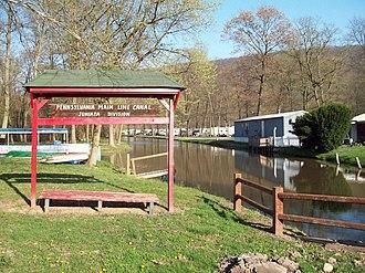 Granville Township, Mifflin County, Pennsylvania - Part of the Juniata Division Canal