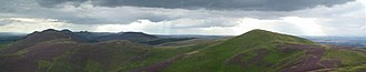 Lothian - The Pentland Hills in rural Lothian.