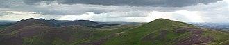 Lothian - The Pentland Hills in rural Lothian.