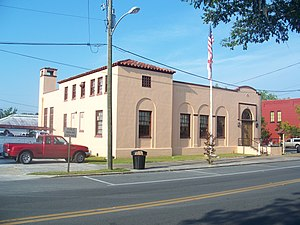 National Register of Historic Places listings in Taylor County, Florida - Image: Perry FL old post office 07