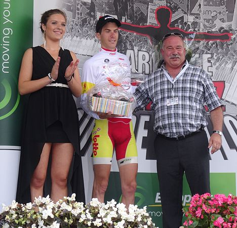 Perwez - Tour de Wallonie, étape 2, 27 juillet 2014, arrivée (D27).JPG