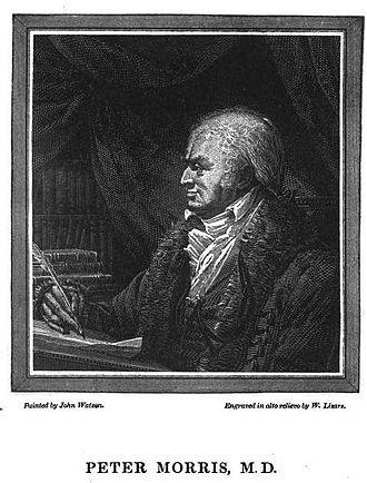 John Gibson Lockhart - Lockhart's fictional Peter Morris M.D., 1819 engraving by William Home Lizars.