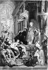 Hl. Ignatius heilt eine Besessene (Kopie nach)
