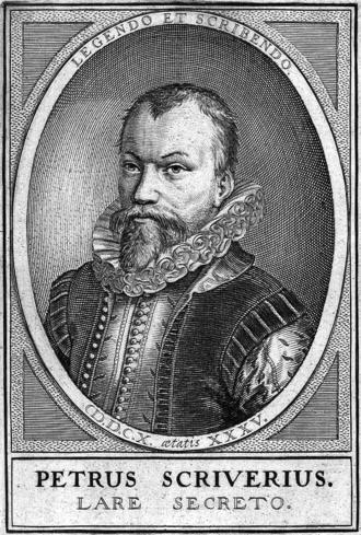 Petrus Scriverius - Petrus Scriverius