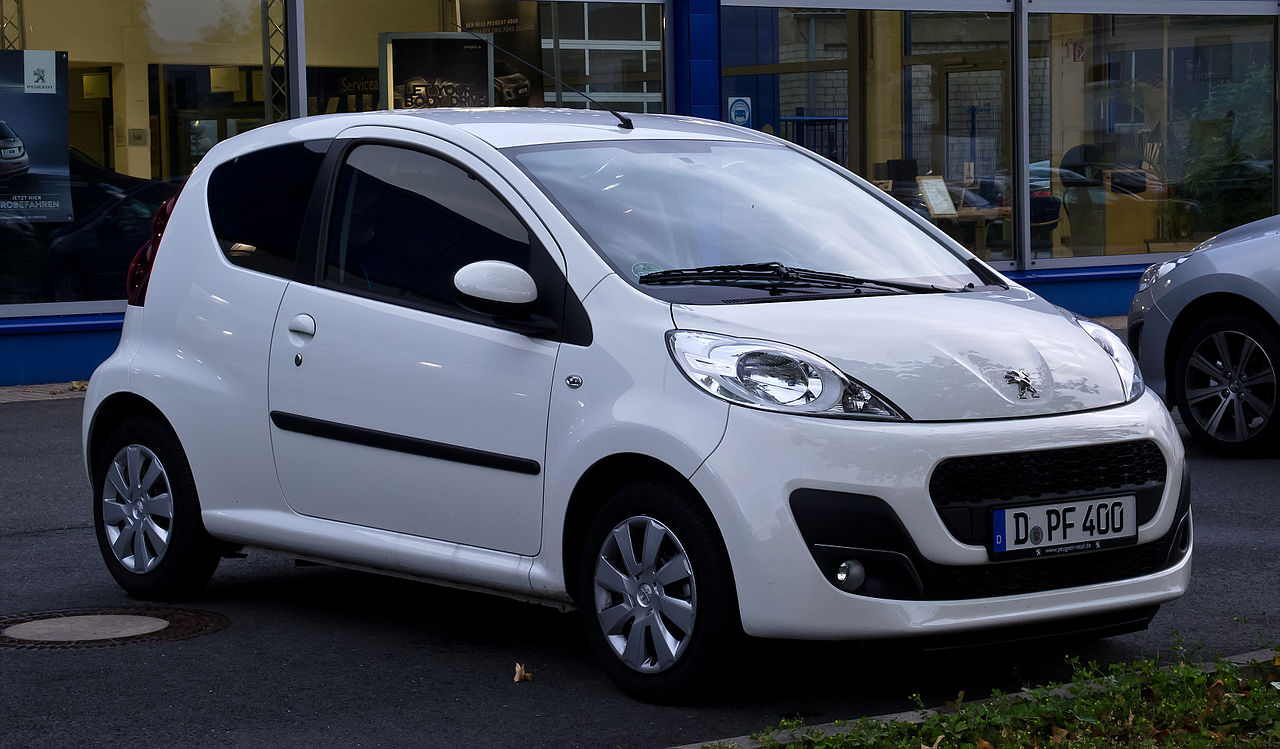 file peugeot 107 68 active 2 facelift frontansicht 24 juni 2012 wikimedia. Black Bedroom Furniture Sets. Home Design Ideas