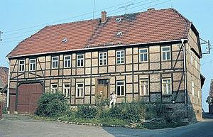 Rotha - Image: Pfarrhaus (1984) C