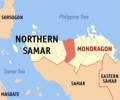 Ph locator northern samar mondragon.png