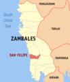 Ph locator zambales san felipe.png