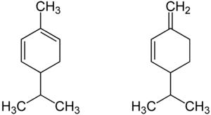 Struktur von Phellandren