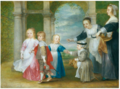 Philip Fruytiers - Four children of Rubens and Helena Fourment with maids.tiff